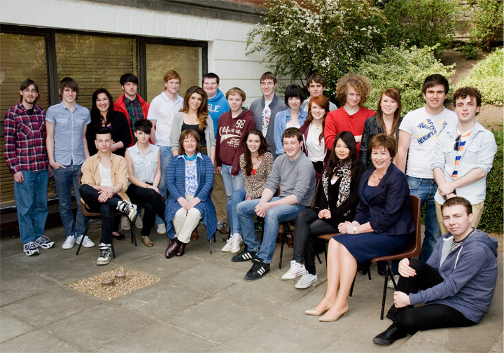 6th Year Official Class Photograph. May 2011