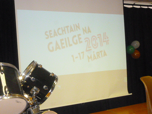 Seachtain na Gaeilge Concert, 13th March 2014