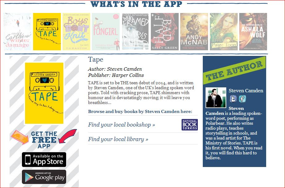 World Book Day 2014 - download the App   News   Stratford