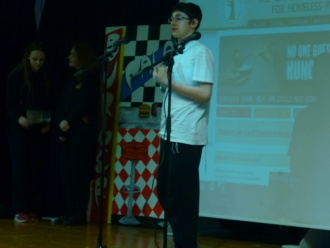 3rd Year CSPE Showcase of Talent. Photo: Ms. O'Kelly