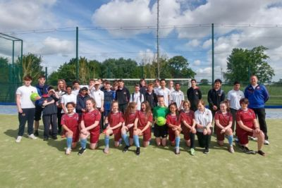 Football challenge: Stratford College v John Scottus School