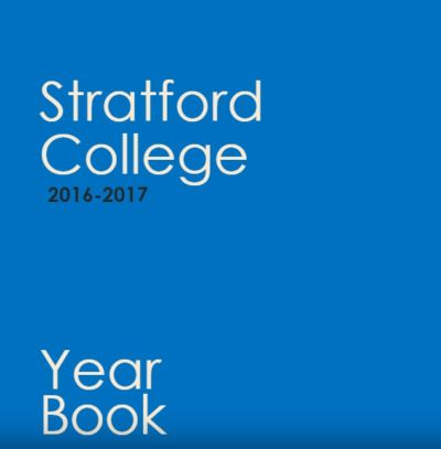 2016-2017 Stratford College Year Book published
