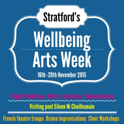 Arts Week 2015 - art and wellbeing