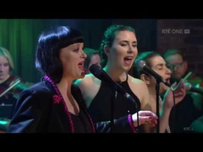 Past pupil Jorden Bukspan (2015) in Bronagh Gallagher's band on The Late Late Show