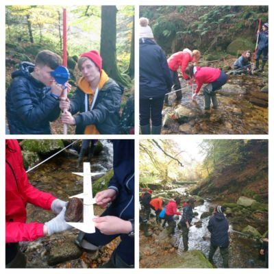 Senior students go on Maths/Geography field trip to Kippure