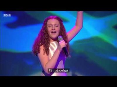 2nd Year student competes in Junior Eurovision Eire 2017 competition on TG4