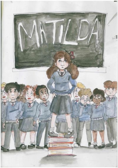 "Stratford College Productions present ""Matilda"""