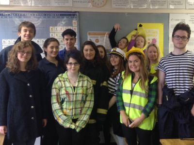 Student Council organise Purim dress-up day in aid of Barnardo's