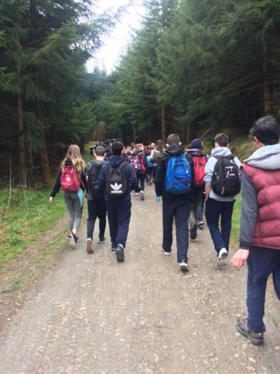 School Walk in aid of World Wildlife Fund