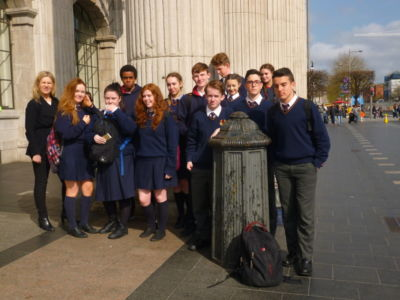 TY History students visit GPO Witness History Exhibition