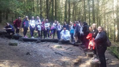 TYs complete two-day hike for An Gaisce Award