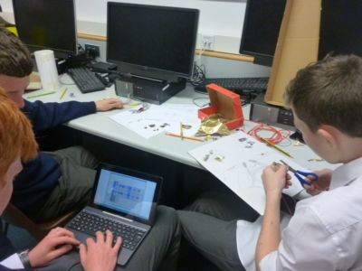 TY students create innovative musical instruments in MaKey MaKey workshop