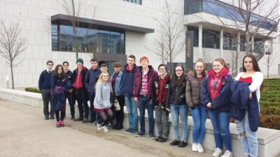 World Book Day 2017: TYs visit Lexicon Library