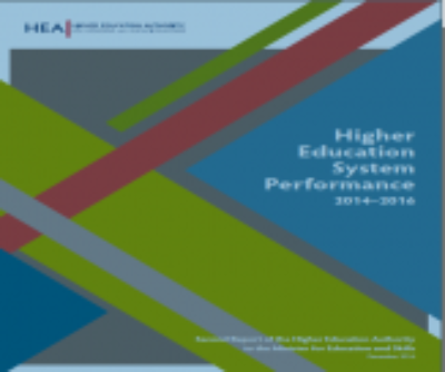 Higher Education Authority publishes Performance Report for years 2014/15