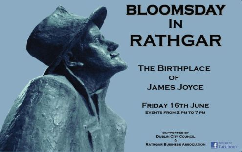 Bloomsday in Rathgar - Friday, 16th July Image: Rathgar Business Association