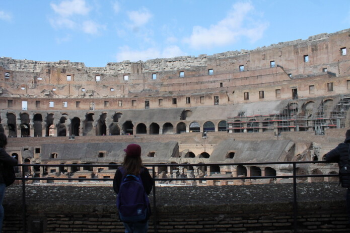Rome Trip, February 2016. Photo: M. Crossan, 6th Year