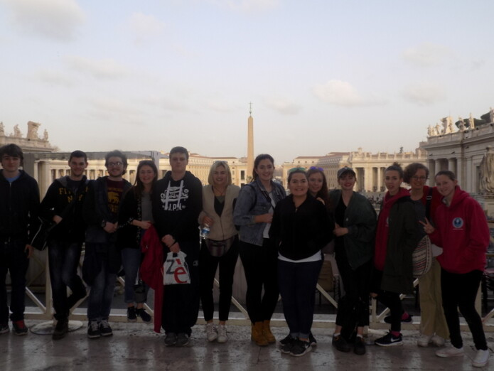 Rome Trip, February 2016. Photo: K. Dempsey, 6th Year
