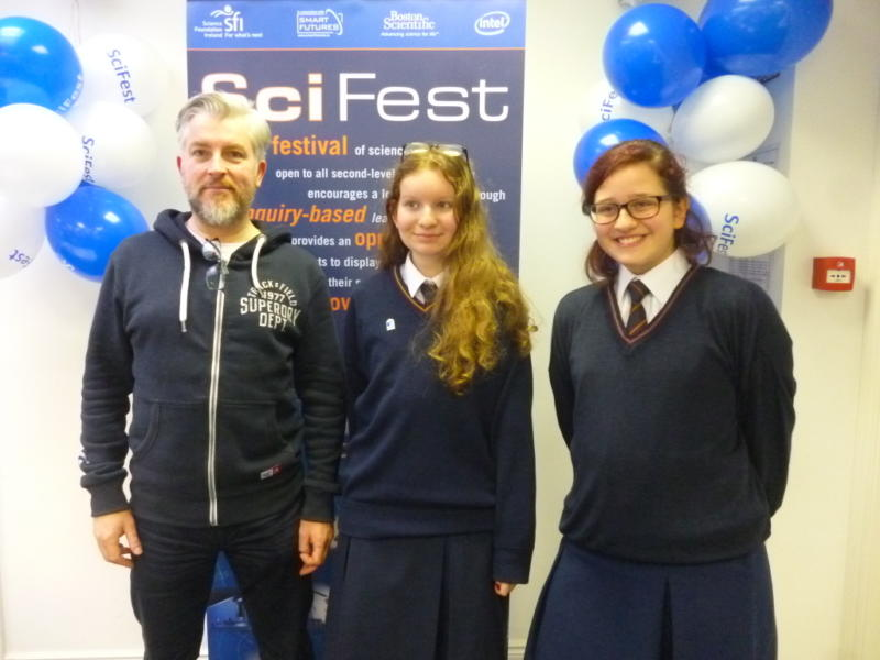 SciFest@Schools - Technology section. Winning groups 2017! Photo: Ms O'Kelly