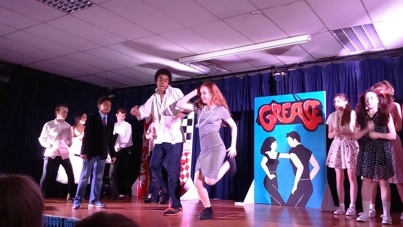 Grease The Musical. December 2015. Photo: W. Croghan