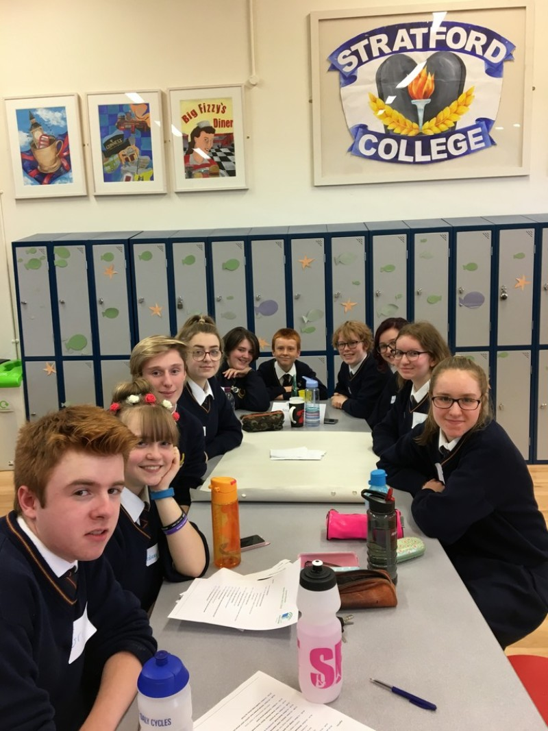 Stratford College hosts the Green Schools Annual Water Forum, 18th October 2017 Photo: Ms. Donohoe