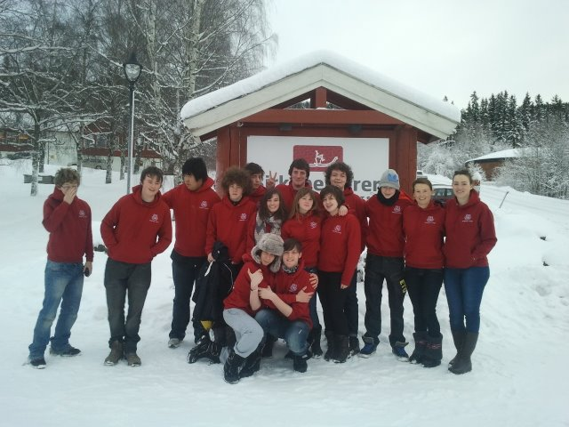 Ski Trip to Lillehammer, Norway. 8th - 12th January 2012