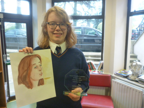 Ty Student Enterprise Merit Award March2019 P1100351