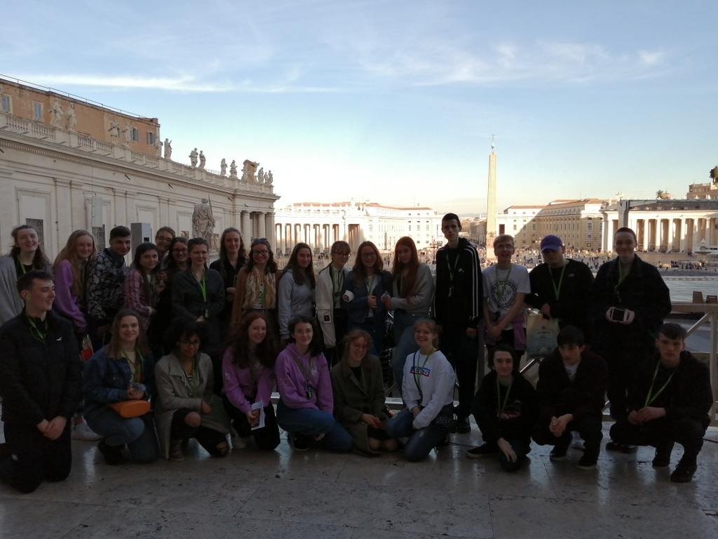 Senior Cycle Classical Studies trip to Rome, 23rd-26th February 2020