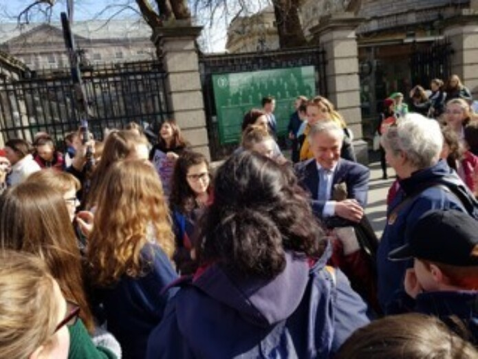 Schools4 Climate Change Protest 15 Mar 2019 1