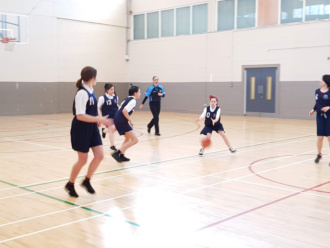 Girls Basketball Colaiste Chilian 20190208 110911