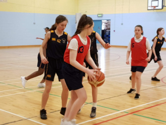 Girls Basketball Colaiste Chilian 20190213 133440