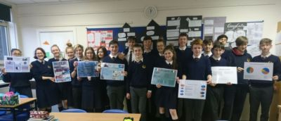 TY Maths students enter John Hooper Medal for Statistics Poster Competition