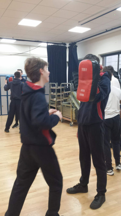TYs complete a four-week self-defence course