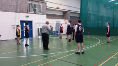 2nd Years Boys Basketball team beat CBC Monkstown