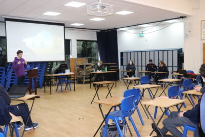5th Years have end-of-term French debate
