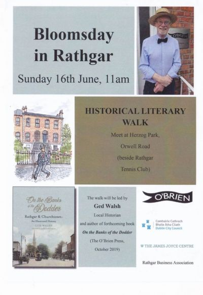 Bloomsday in Rathgar: 15th & 16th June