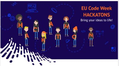 TYs compete in EU Codeweek Hackathon - one team gets to National Finals