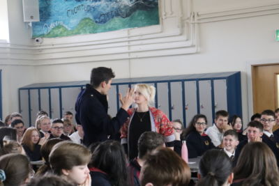 Whole school treated to a French play