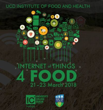 2nd Year student comes second in group coding project at 'Internet of Things 4 Food' at UCD conference