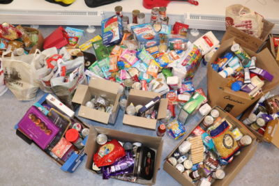 Student Council organise food collection for Mitzvah Week