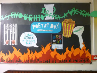 Stratford celebrates National Poetry Day in the Library