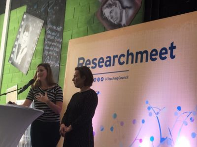 Researchmeet Feilte2018  Photo: Teaching Council