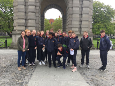 TYs go on NeoClassical walking tour of Dublin