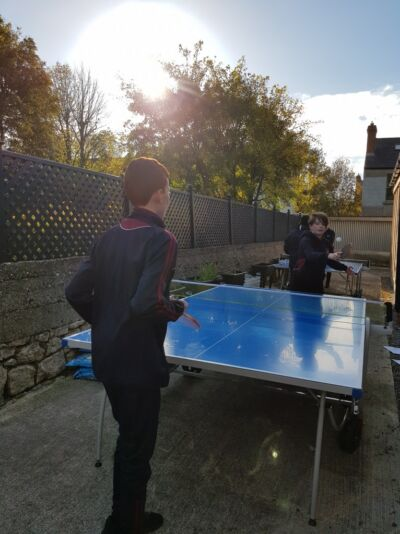 Stratford gets new Table Tennis tables