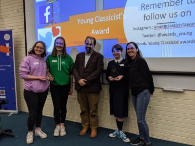 Stratford College Classics students win both the Junior and Senior Young Classicist Award 2020