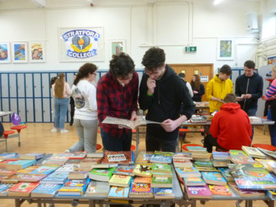 World Book Day celebrations: 'Booky Breakfast' book swap sale raises €180 for charity