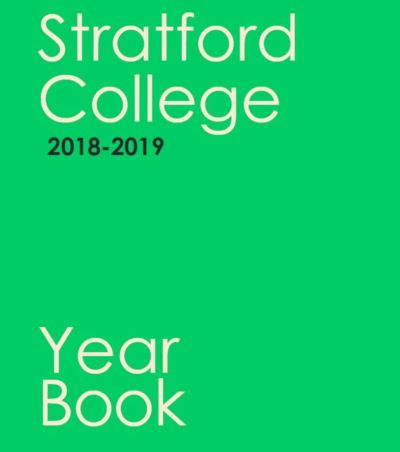 Stratford's 2018-2019 Year Book published!