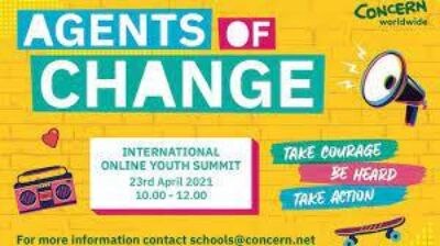 Stratford students to participate in Online International Youth Summit hosted by Concern Worldwide