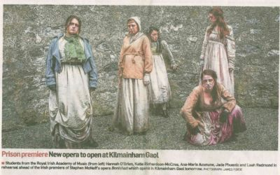 Past Pupil (2014) in Irish premiere of Stephen McNeff's opera 'Banished'