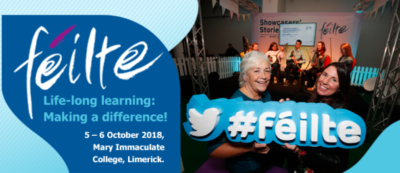 FÉILTE 2018 - Stratford College will be represented at Researchmeet