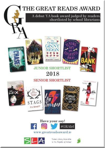 The Great Reads Award - shortlisted books for 2018
